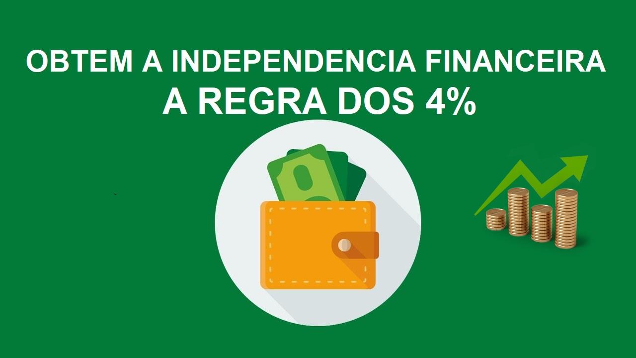 OBTÉM A INDEPENDÊNCIA FINANCEIRA – A REGRA DOS 4% – CONTEM PANILHA EXCEL