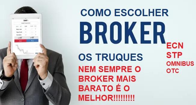 COMO ESCOLHER O BROKER