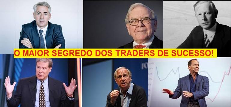 O SEGREDO DOS TRADERS DE SUCESSO