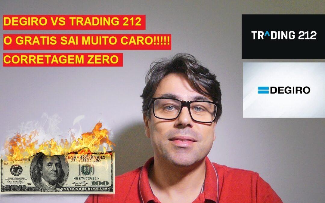 TRADING 212 VS DEGIRO – CUIDADO CORRETAGEM ZERO MAS PAGAS MAIS!!!