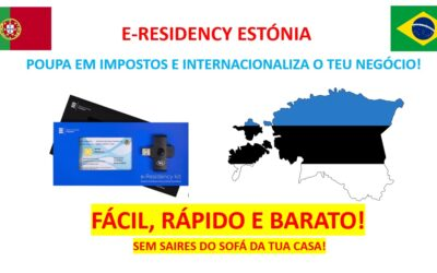E-Residency Estónia: Poupa Impostos e Internacionaliza o teu Negocio